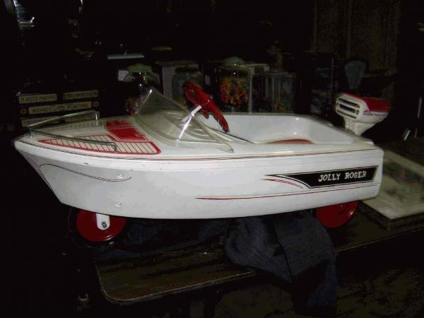 46 Murray Jolly Roger Pedal Boat With Motor Lot 46