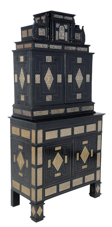 50s kitchen cabinet a and antique german pewter inlaid cabinet on 1105