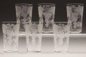 Dorflinger Glass | Umbrella Stand Brilliant Elfrida Pattern 20