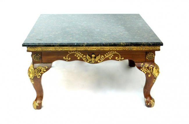 Maitland Smith Style Coffee Table Lot 138