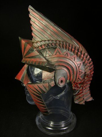 528: Immortals Titan's Helmet Movie Props : Lot 528