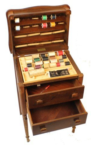 Caswell Runyan Company Perfect Sewing Cabinet Lot 20357