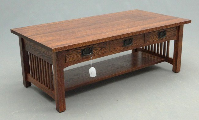 Mission Oak Style Coffee Table Images Frompo