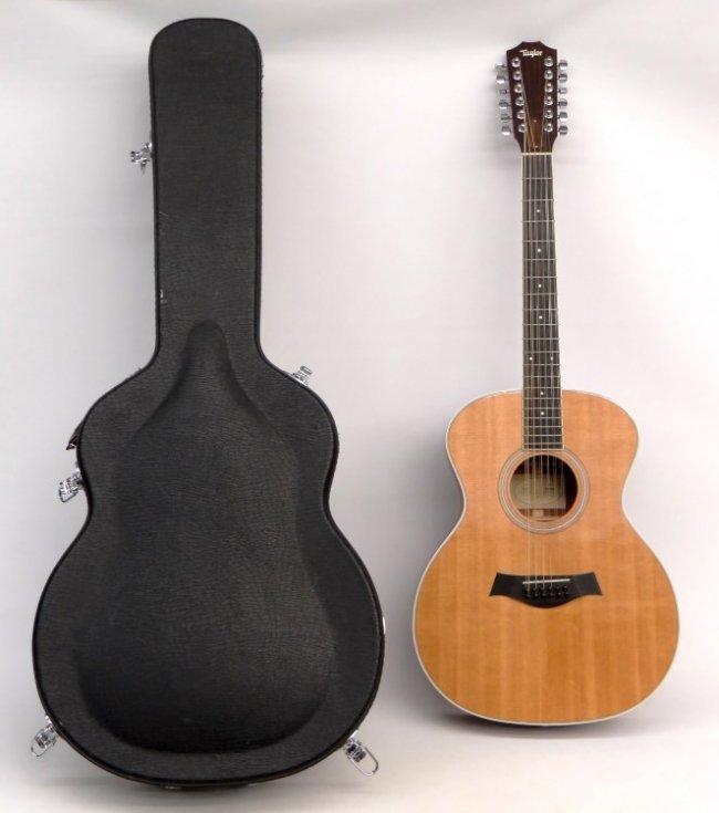 taylor 12 string ga3 acoustic guitar lot 428. Black Bedroom Furniture Sets. Home Design Ideas
