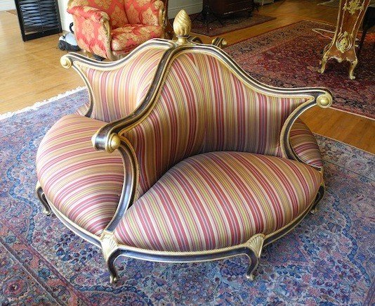 antique round couch share on facebook share on twitter share on