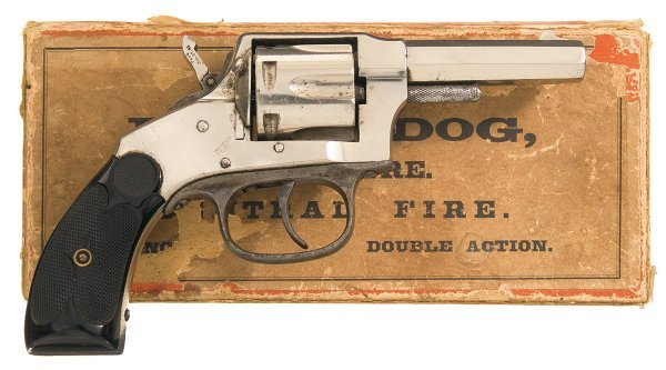 292 hopkins amp allen model xl bull dog double actio lot 292