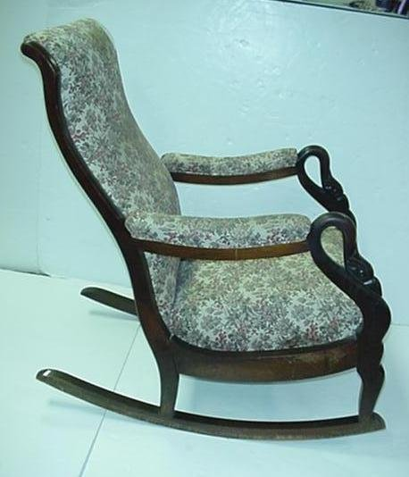 Gooseneck Rocking Chair Appraisal Related Keywords Suggestions – Swan Arm Rocking Chair