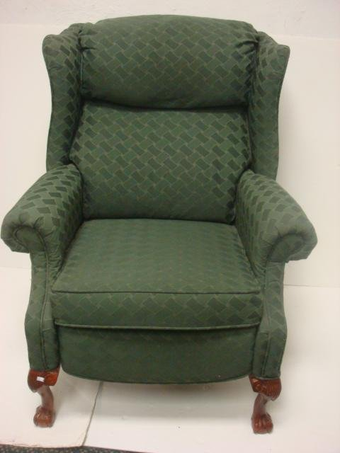 65 LANE Wing Chair Recliner Lot 65