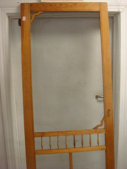 Country Screen Doors : A quot w country pine screen door lot