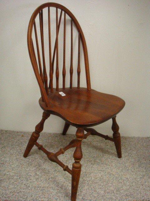323 Nichols Stone Brace Back Windsor Chair Lot 323