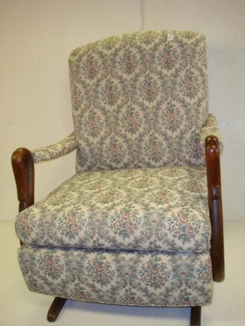 Antique Swan Neck Rocking Chair Antiques Art And