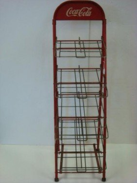 54 Four Tiered Wire 1950 S Vintage Coca Cola Rack Lot 54