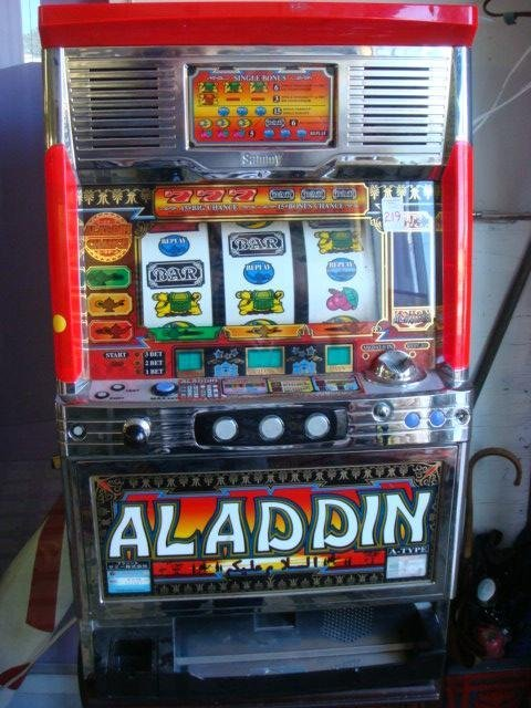 aladdin slot machine for sale