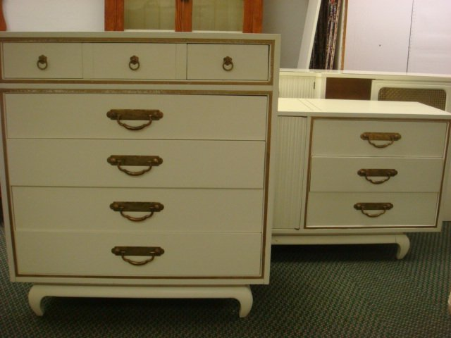 36 american by martinsville 5 piece bedroom set lot 36 for American martinsville bedroom furniture