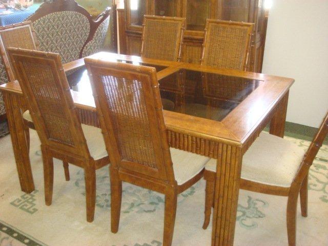 American Of Martinsville 8 Piece Dining Room Set Lot 732