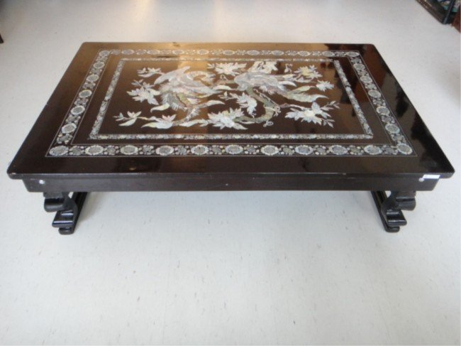 805 Korean Folding Table w Inlaid Mother of Pearl Lot 805 : 97079754l from www.liveauctioneers.com size 650 x 487 jpeg 54kB