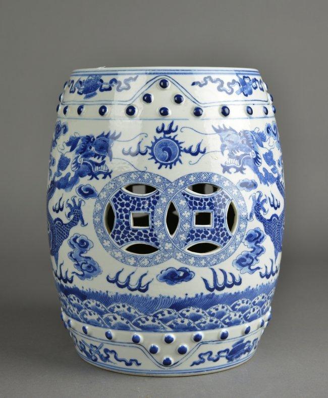 porcelain garden stools chinese