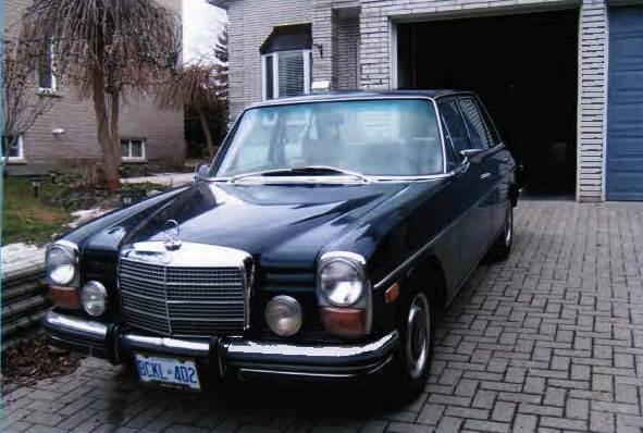1973 mercedes benz 280 4 door sedan lot 505 for 1973 mercedes benz 280