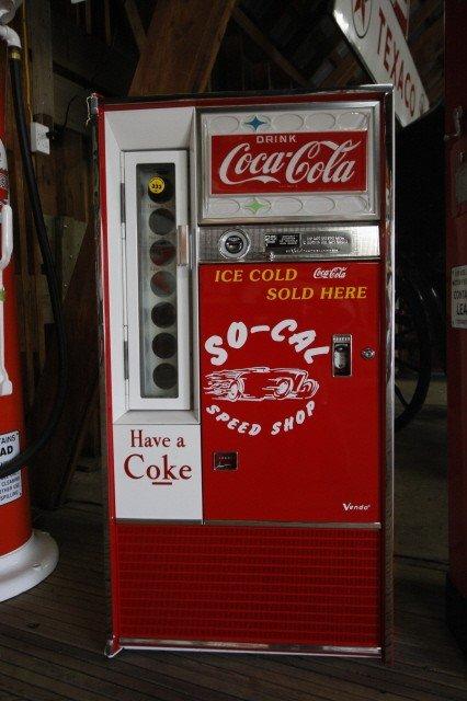1960 coke vending machine