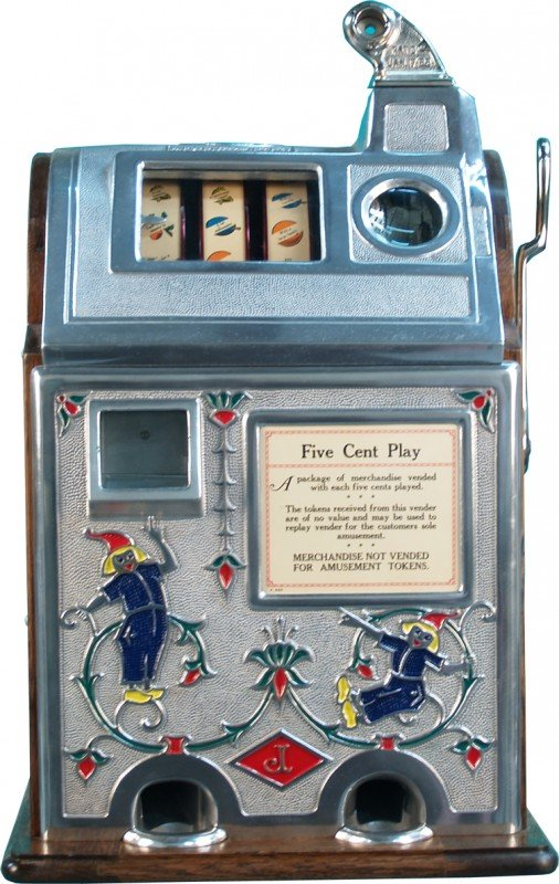 jennings sun chief 5 cent slot machine