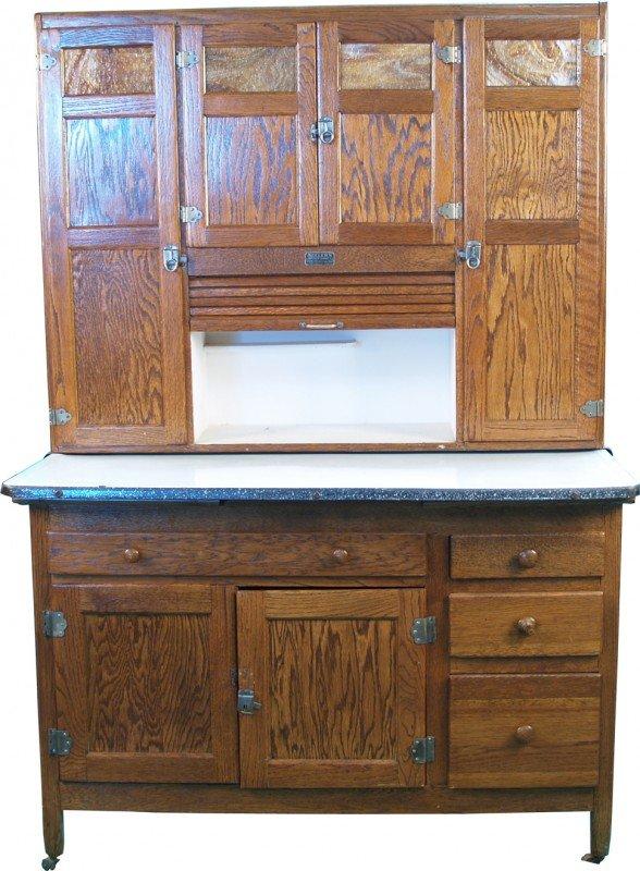 776 floor model sellers kitchen cabinet lot 776