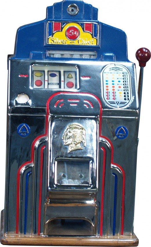 slot machine urn