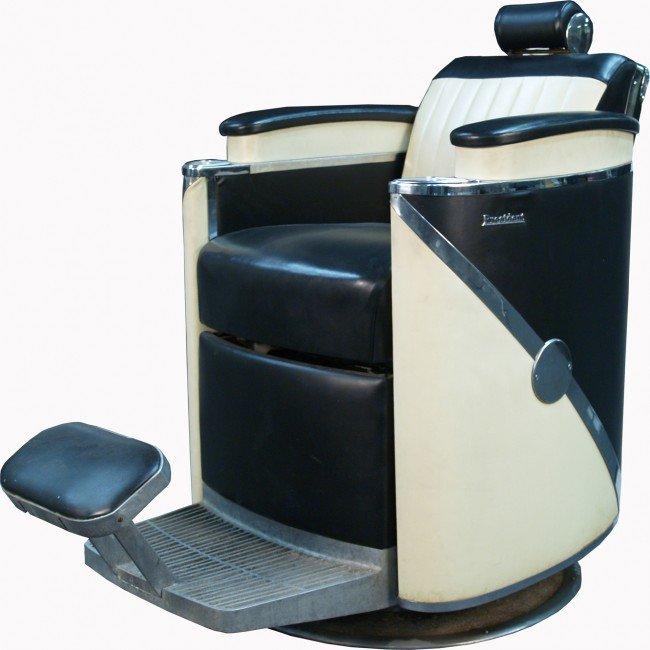 420 vintage koken president barber chair c1957