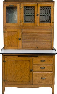What to do with the upper half of a Hoosier cabinet ...