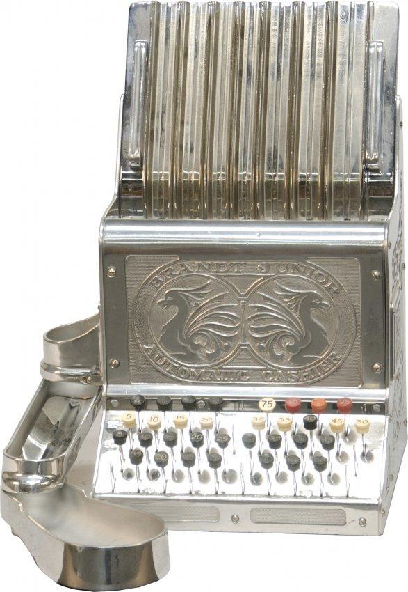 488b early brandt junior automatic cashier silver plat. Black Bedroom Furniture Sets. Home Design Ideas