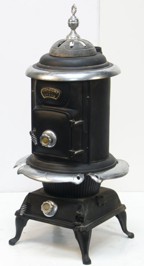 Pot Belly Stove : 794: Cast-Iron Pot Belly Comfort Stove : Lot 794