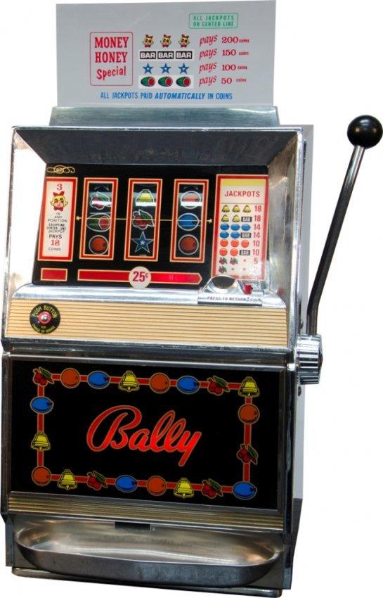 bally 3 reel slot machine
