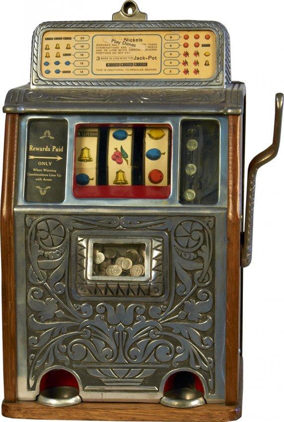 Caille superior slot machine