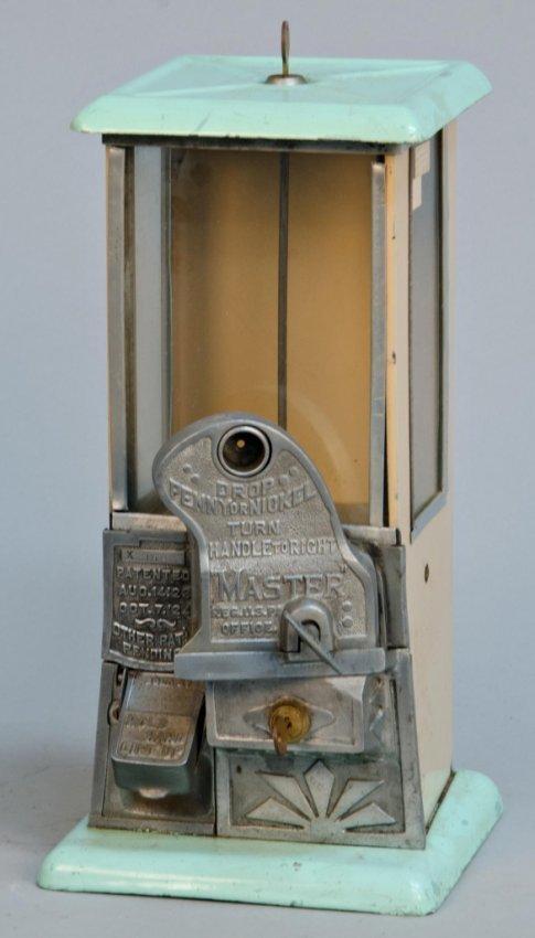1 Amp 5 Cent Quot Master Quot Countertop Gumball Vending Machine