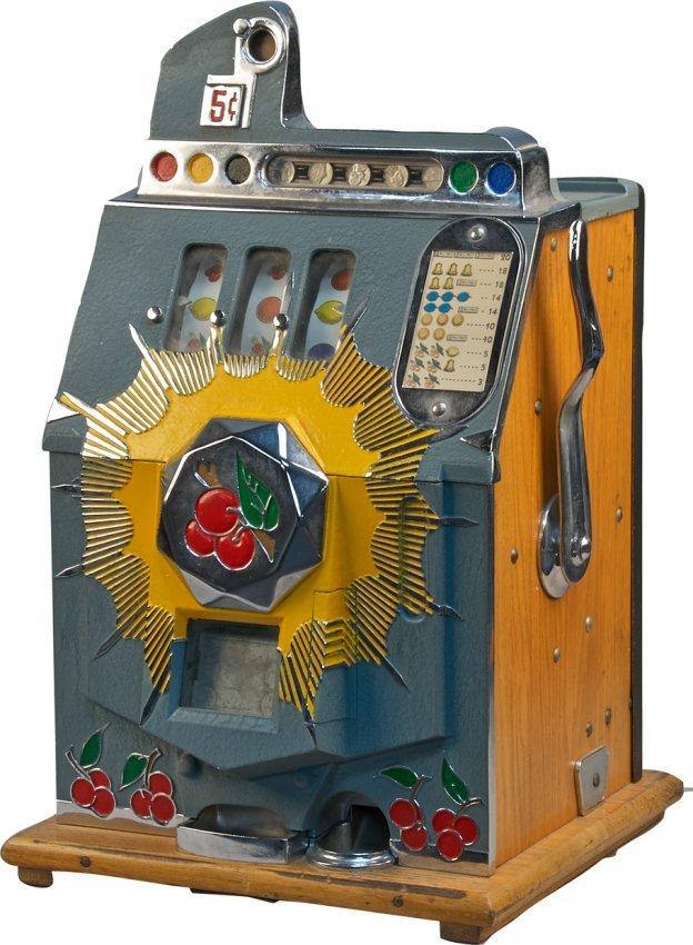mills bursting cherry slot machine