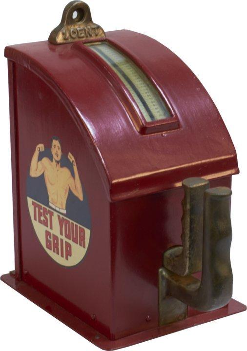 strength tester arcade machine