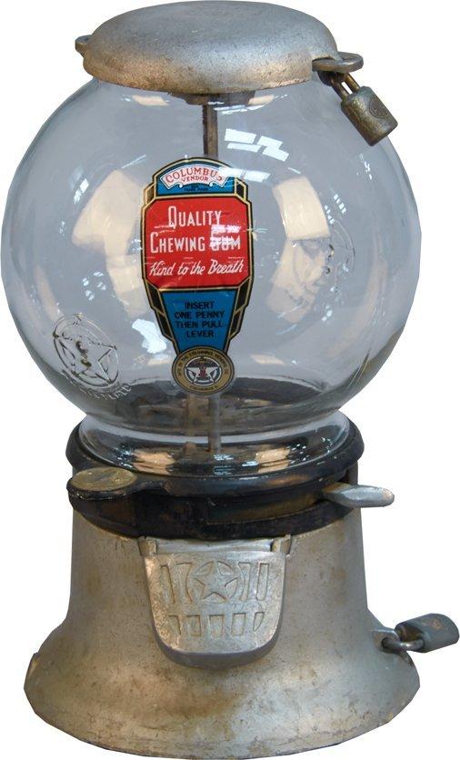columbus gumball machine