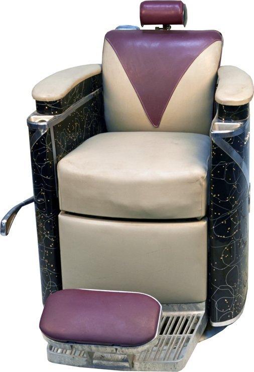 Koken president art deco barber chair lot 1359 - Deco klassiek koken ...
