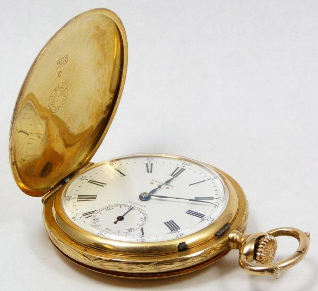 206 longines 18k yellow gold grands prix pocket watch lot 206 - Prix longrines prefabriquees ...
