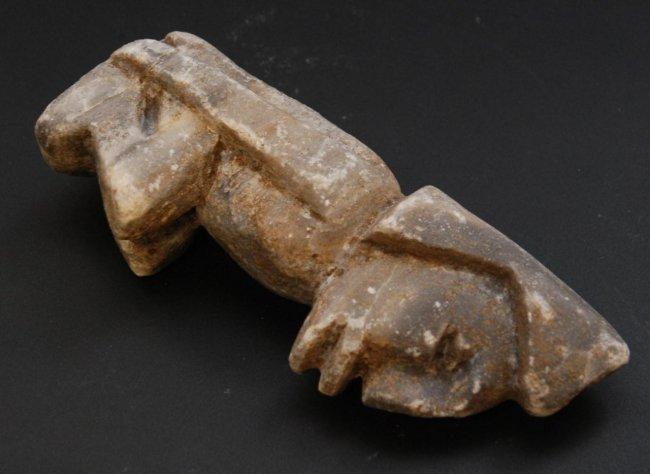 Pre columbian grey stone sculpture of mezcala lot