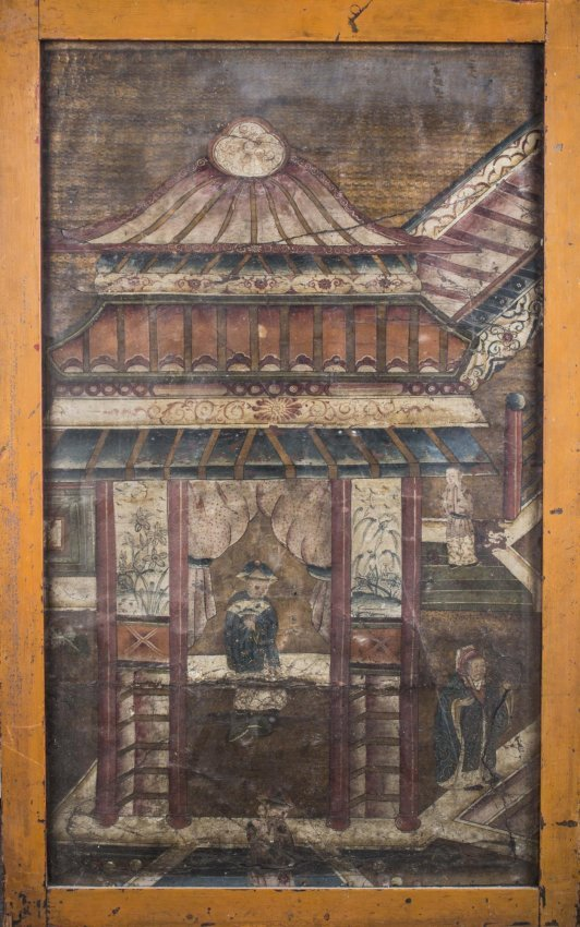 Chinese Qing Dynasty Painting : Lot 661