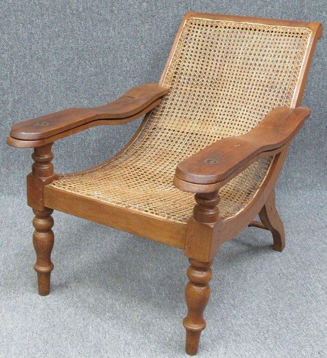 371 British Plantation Chair Lot 371