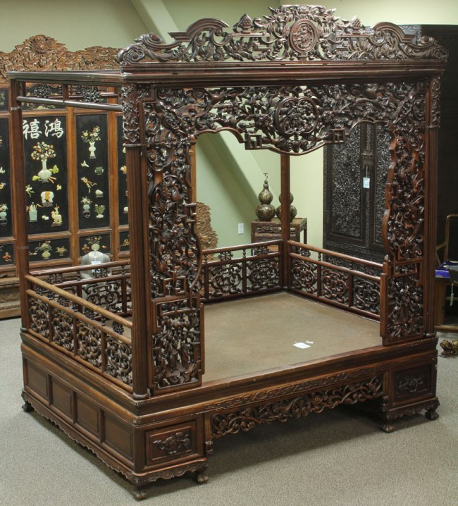 ornate canopy bed antiques pinterest canopy beds