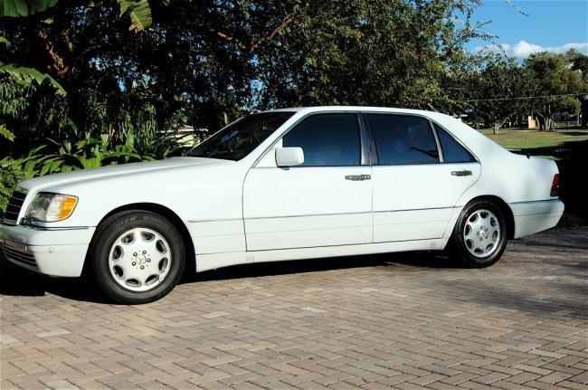Mercedes benz 400sel 1993 lot 100 for 1993 mercedes benz 400sel for sale