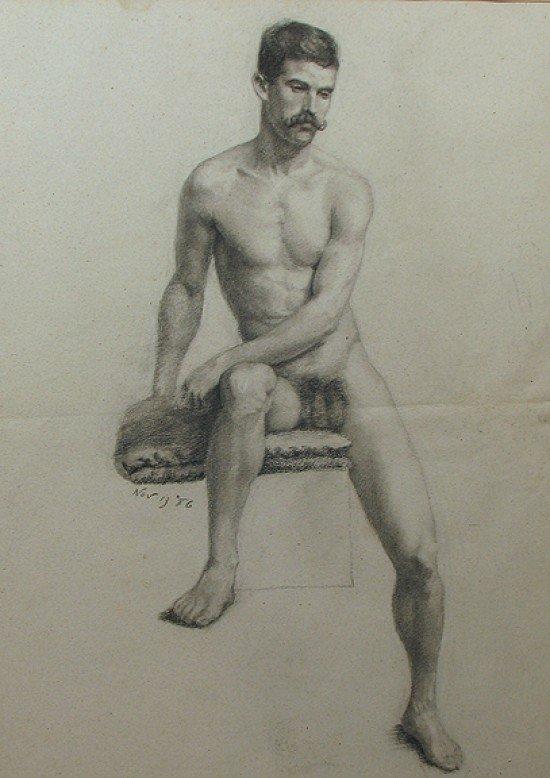 Nude Men Drawings 4