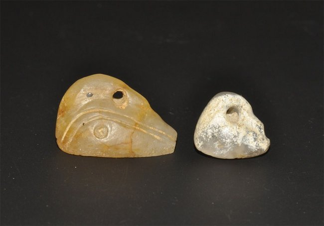 Mesopotamian Two Small Duck Seals : Lot 448