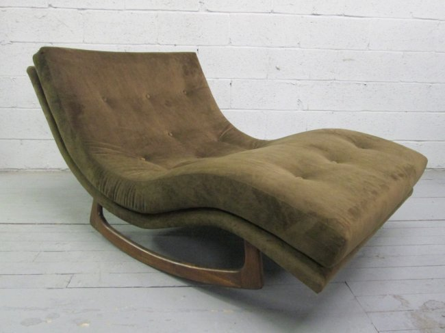 292 adrian pearsall double rocking chaise lot 292 for Adrian pearsall rocking chaise