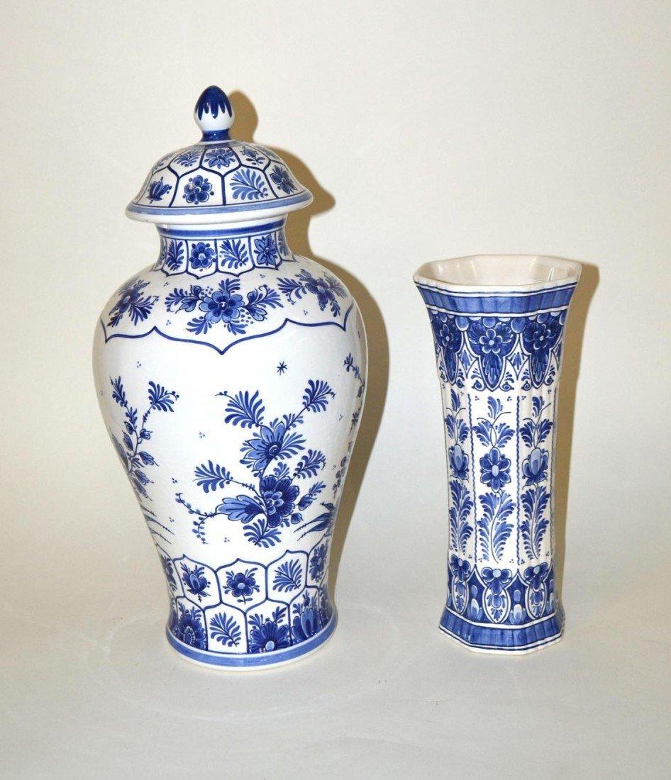 Floral porcelain ginger jar vase - TheFind