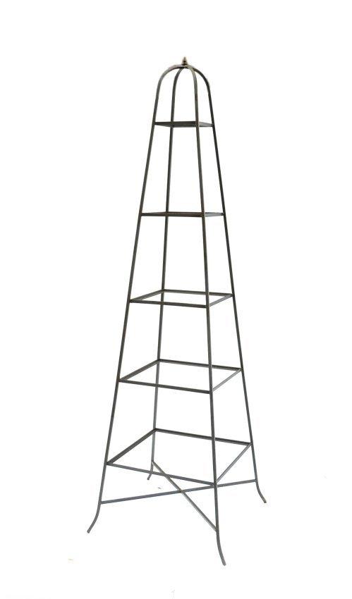 Couleur Pour Une Cuisine Moderne : Steel Pyramid Etagere  Lot 491