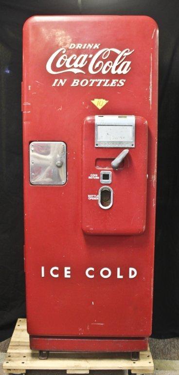 1950s coke machine
