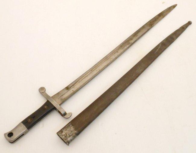 Portuguese Kropatschek Model 1885 Sword Bayonet Austria